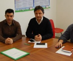Conferenza stampa poliambulatorio: Italo Nardinocchi, Francesco Ruggieri, Gianluca Re