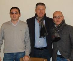 Marche International Volley Cup: Walter Bartolomei, Giovanni Stracci, Piero Antimiani