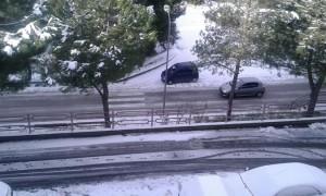 Neve a Offida 30 dicembre