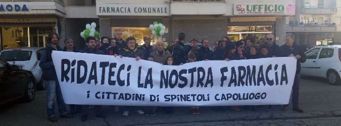 le proteste a Spinetoli