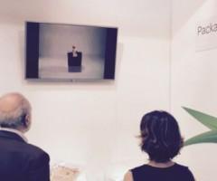 Leonardo Quaglieri espone un video al Sigep