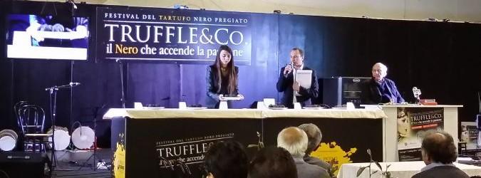 La seconda edizione di Truffle&Co si chiude con l'asta del tartufo nero pregiato
