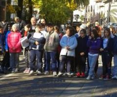 Gli studenti delle scuole di Castel di Lama festeggiano la Giornata della Memoria