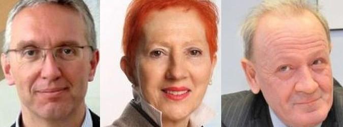 Candidati alle Primarie: Lica Ceriscioli, Ninel Donini, Pietro Marcolini