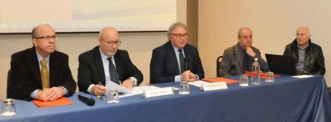 Presentazione dei dati sul turismo nella Regione Marche. Presente Gian Mario Spacca e Pietro Talarico.