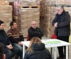 Alla maratonina di centobuchi di potranno donare alimenti al banco alimentare destinati a strutture caritatevoli.