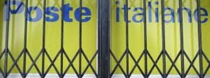 Poste Italiane chiudono gli uffici