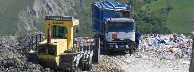 rifiuti - discariche nel piceno - Viabilità da Relluce a Geta