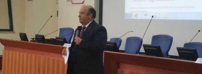 Gino Sabatini, presidente della Camera di Commercio, la quale aderisce a Symbola