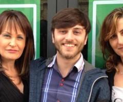 Sandra Sprecacè, Marco Chiappini e Paola Comini inaugurano la sede elettorale di Anna Casini.