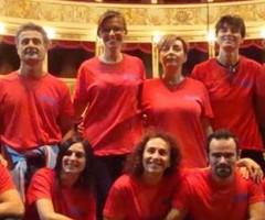 Compagnia dei Donattori alla Festa di Monticelli
