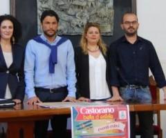 Castorano, da sx: Silvia Fioravanti, Daniele Clausio Ficcadenti, Vittoria Ciampanella, Graziano Fanesi.