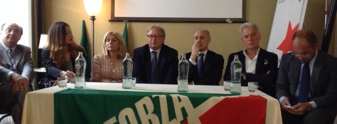 Conferenza Stampa Presentazione Liste di Forza Italia