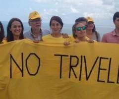 Manifestazione contro le trivelle nel mare Adriatico