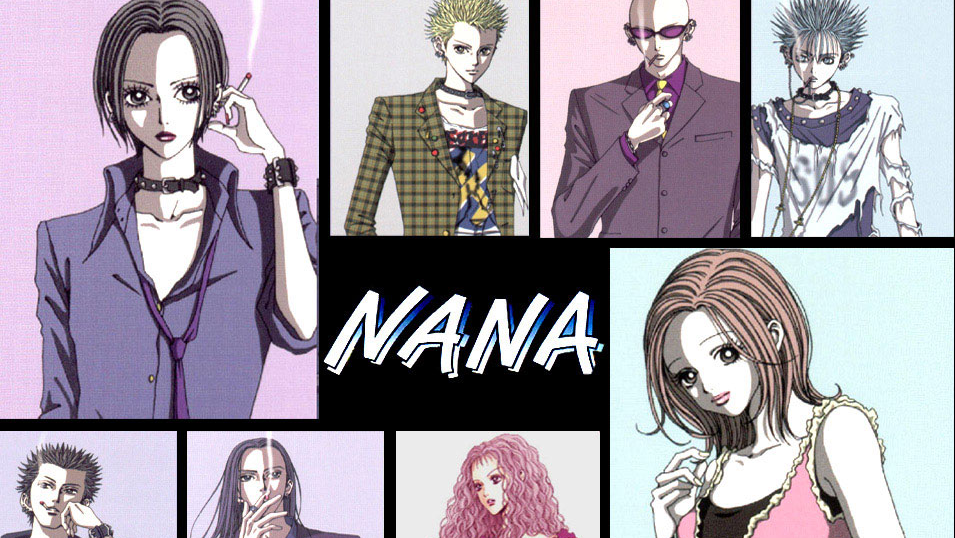 manga anime rock nana blackburn feathers