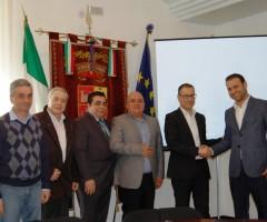 delegazione iraniana provincia ascoli