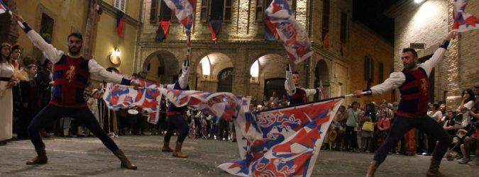 Cossignano Medioevo Festival, assalto al castello