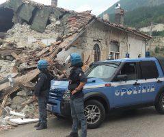polizia terremoto