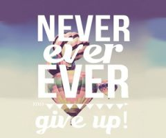 arrendersi mai