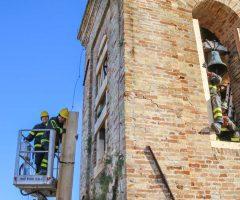 vigili del fuoco chiesa cossignano