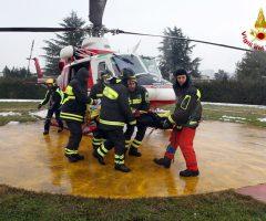 vigili del fuoco acquasanta emergenza neve