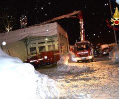emergenza neve vigili del fuoco