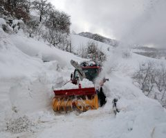 vigili del fuoco neve emergenza