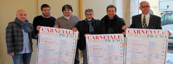 Carnevale storico del Piceno, evento territoriale