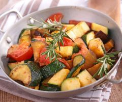 verdure grigliate in padella