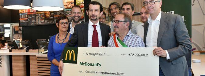 mcdonald's per arquata