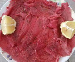 carpaccio di carne