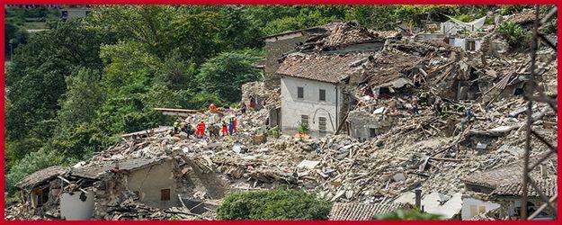 Terremoto e ricostruzione pesante - dl terremoto