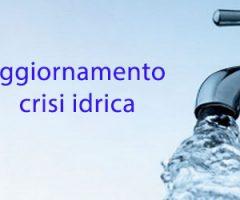 aggiornamento crisi idrica