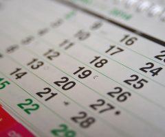 Calendario scolastico Marche 2018