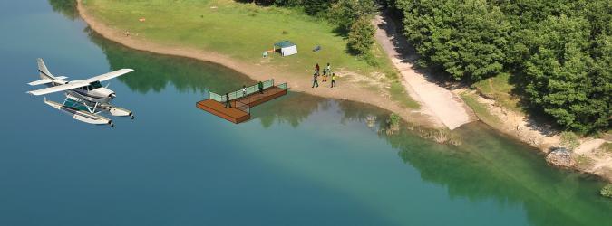 idrosuperficie lago di gerosa