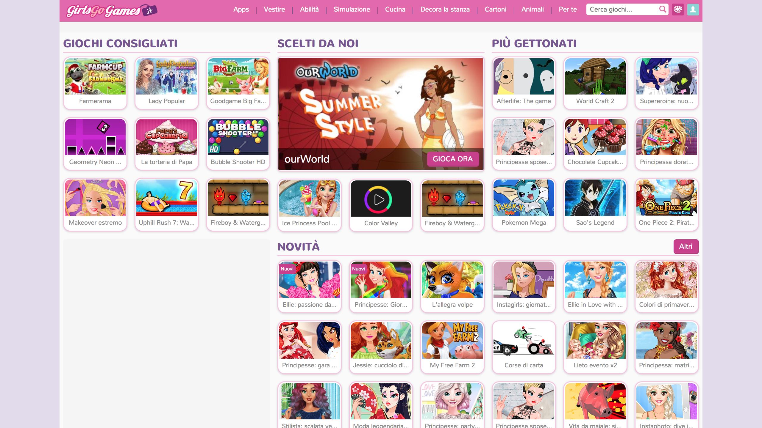 siti giochi gratis