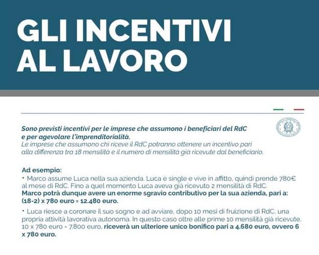 incentivi alle aziende
