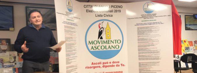 Comunali Ascoli 2019, Travanti