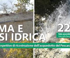 Sisma e crisi idrica