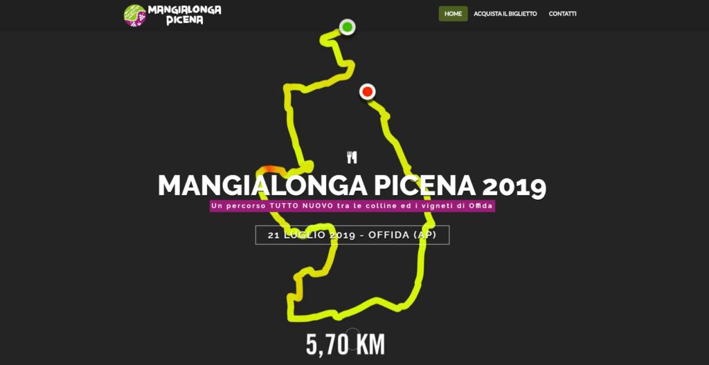 mangialonga picena 2019 percorso