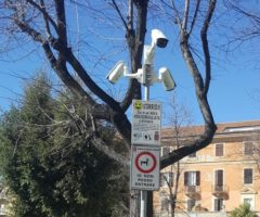 Piazza Diaz videocamere ascoli
