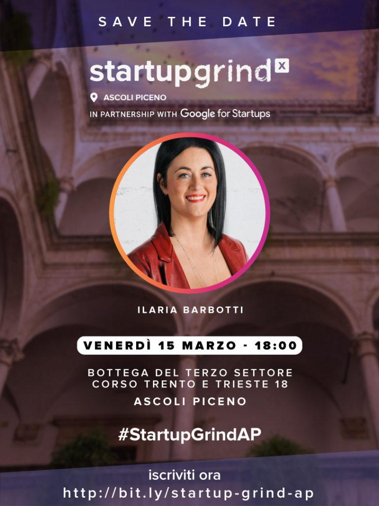 StartupGrind Ascoli Piceno ilaria barbotti