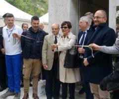 Presentazione impianto di soccorso di Castel Trosino