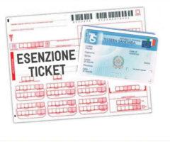 esenzione ticket specialistiche