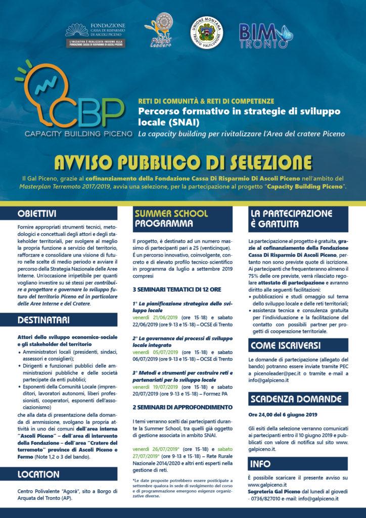 Capacity building piceno programma