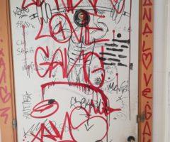 atti vandalici ascoli