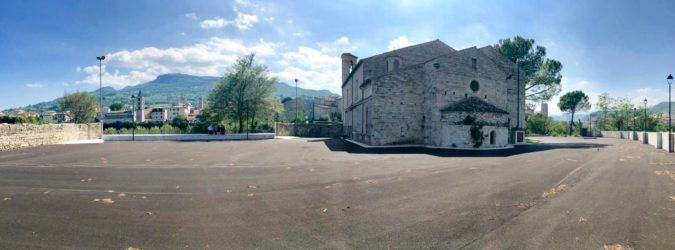 san pietro in castello parcheggi ascoli
