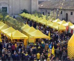 Post sisma, manifestazione Roma Coldiretti