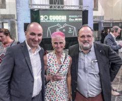 Ascoli-MirkoPetracci-CristinaBowerman-PaoloMarchi_ambasciatoridelgusto-1