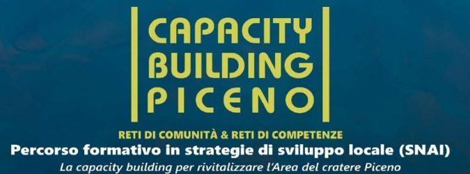 Eventi Ascoli, Capacity Building Piceno